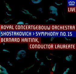 Symphonie n°15 en La Maj op 141 : Allegretto