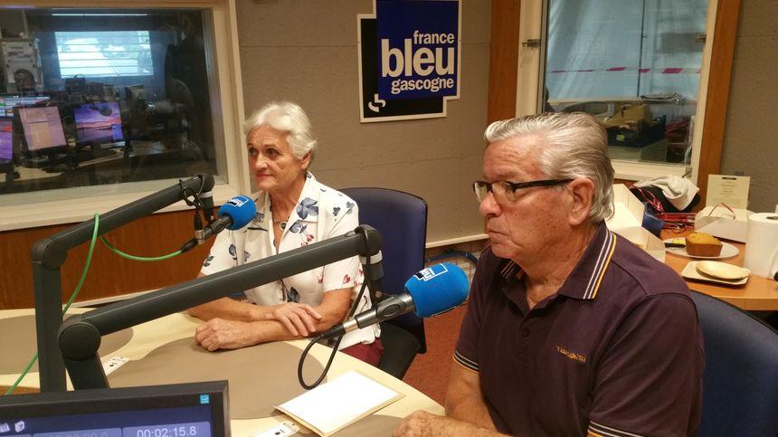 Jocelyne et Gérard de Parentis en Born