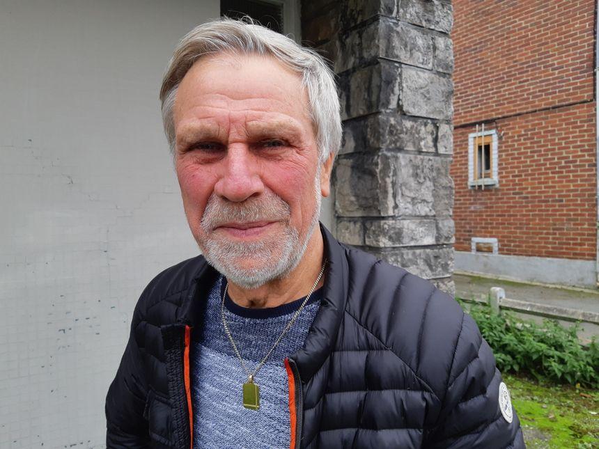 Daniel Dewalle, ancien maire d'Houdain, membre du Collectif de lutte contre les expulsions locatives