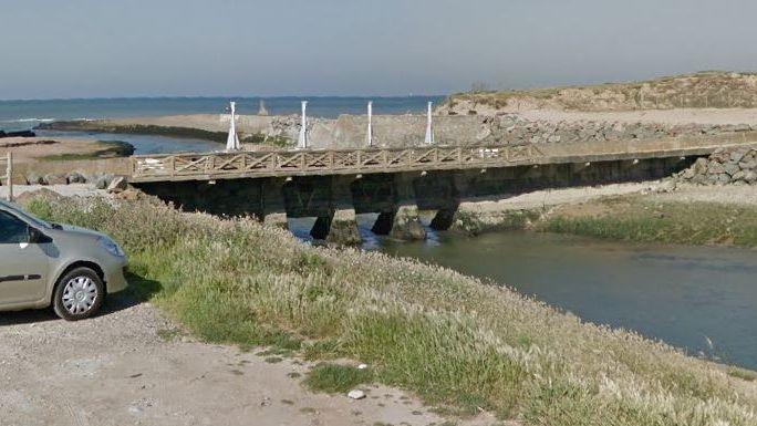 L'écluse de la Gachère, tout au nord d'Olonne-sur-Mer.