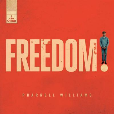 "Pochette pour ""Freedom - Pharrell Williams"""