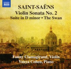 Sonate n°2 en Mi bémol Maj op 102 : Andante - pour violon et piano - FANNY CLAMAGIRAND