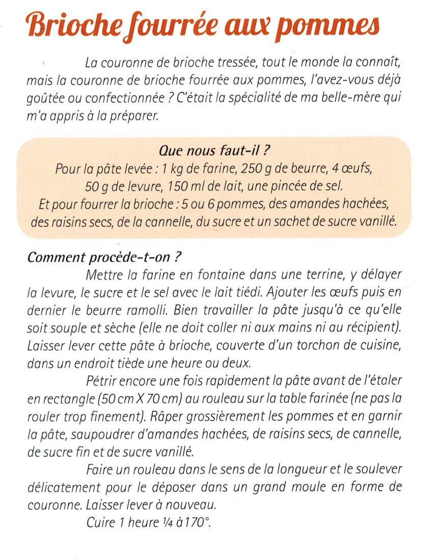 La recette en français