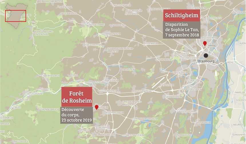 Schiltigheim et Rosheim : deux lieux clés dans l'affaire Le Tan.