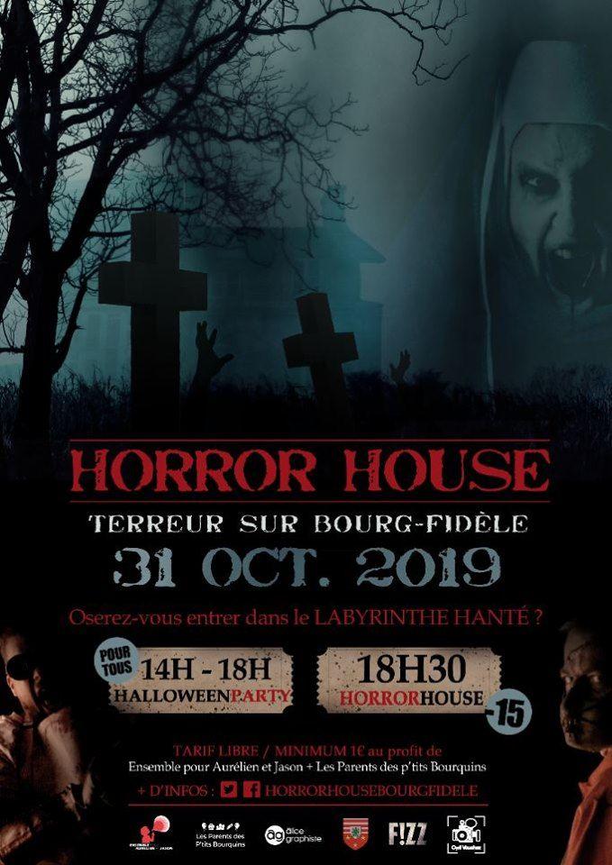 Horror House 2019 Bourg-Fidèle (Ardennes)