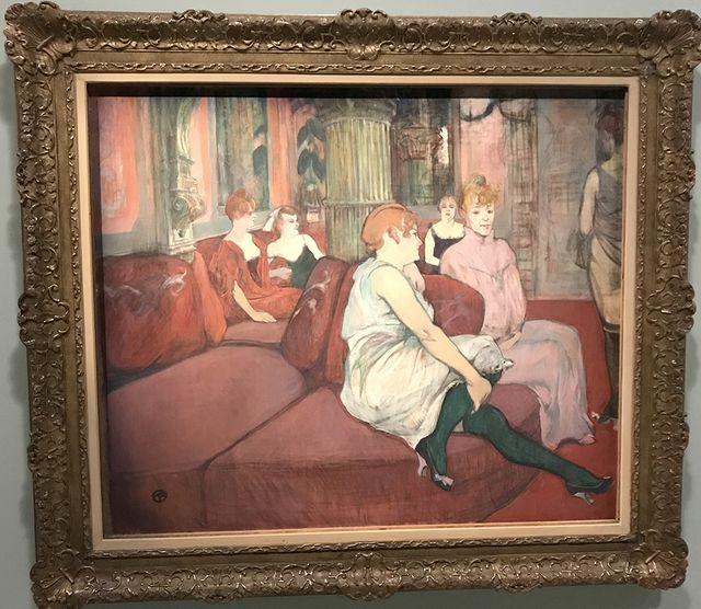 Au salon de la rue des Moulins (1894)