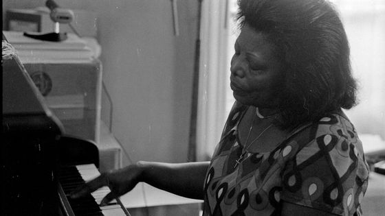 Mary Lou Williams chez elle en 1975