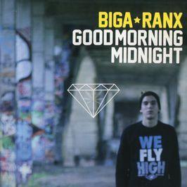 """Pochette de l'album """"Good morning midnight"""" par Biga Ranx"""