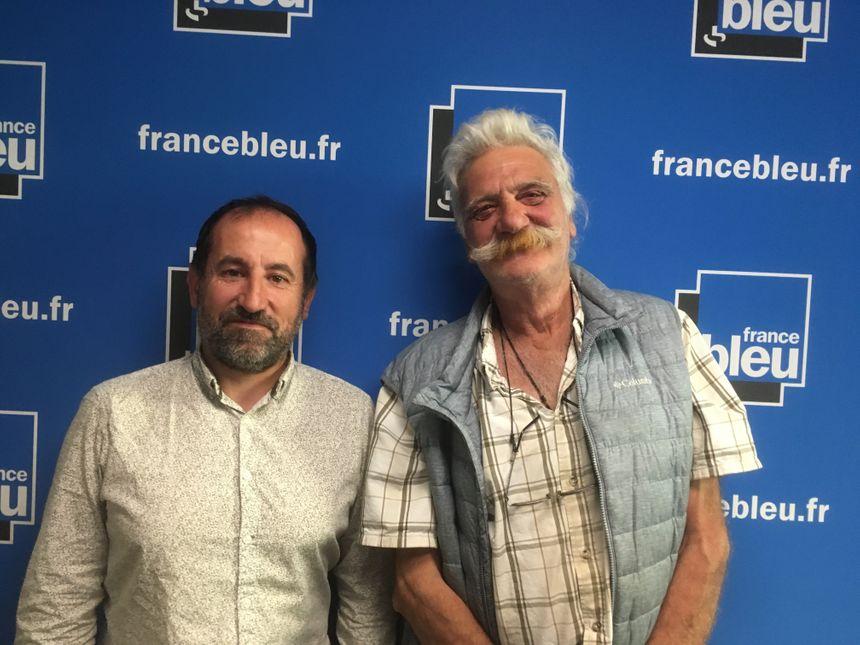 Bruno Caraguel et Guy Meauxoone