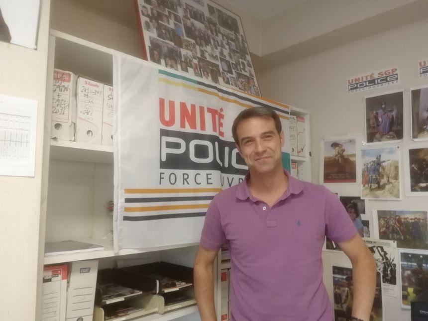 Christophe Fernandez, syndicat Unité SGP Police Nationale  - Radio France