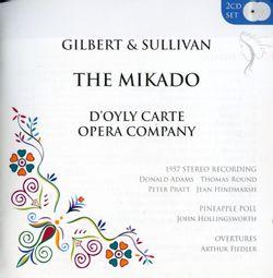 The mikado (intégrale) : Ouverture (instrumental) - DONALD ADAMS