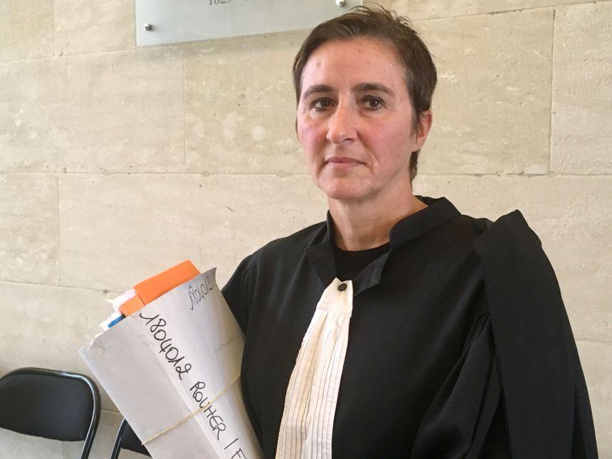 Frédérique Pohu-Panier est l'avocate française de Clémence Rouher