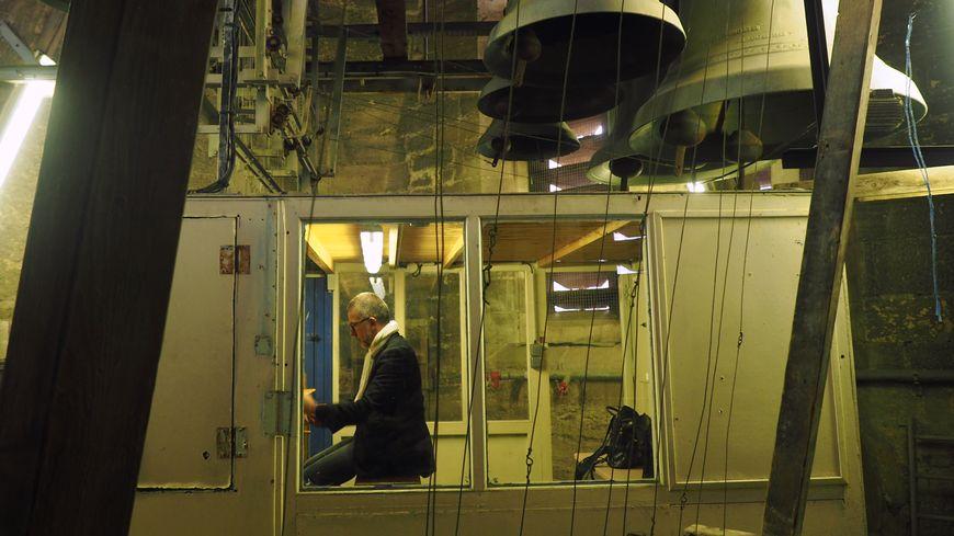 La cabine du carillonneur, un endroit rarement accessible au public