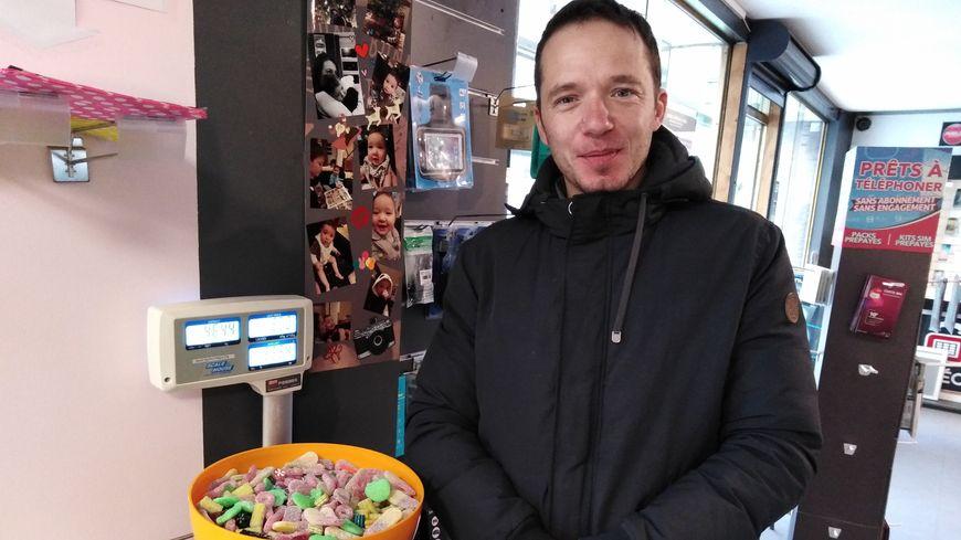 L'un des deux saladiers préparés par Jonathan Cavalière