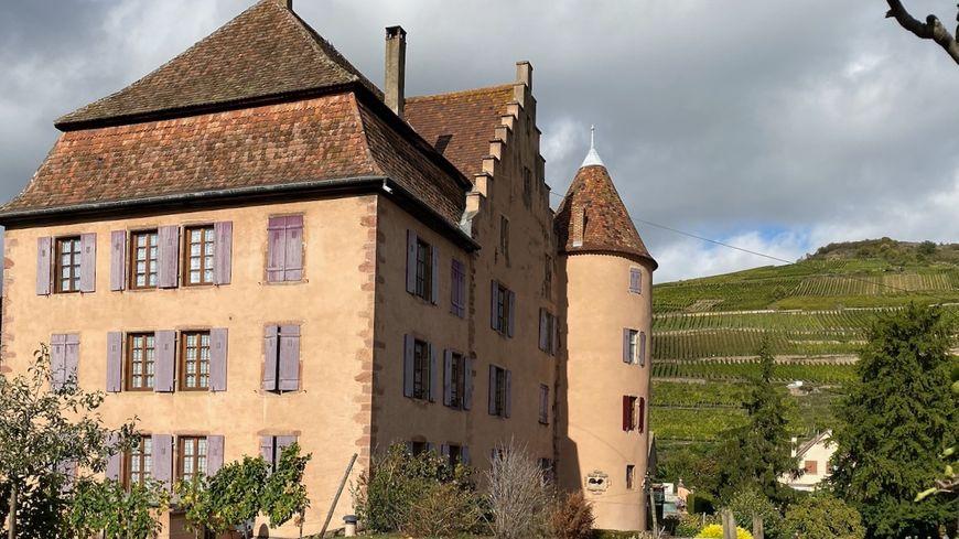 Soultzmatt, le château Wangenbourg