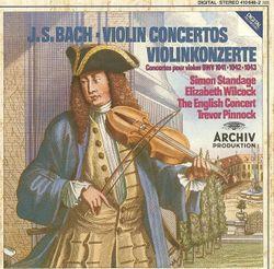 Concerto en la min BWV 1041 I allegro moderato - SIMON STANDAGE