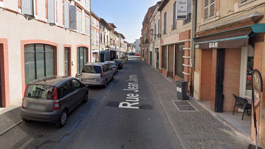 Le drame a eu lieu en plein centre-ville de Carbonne.