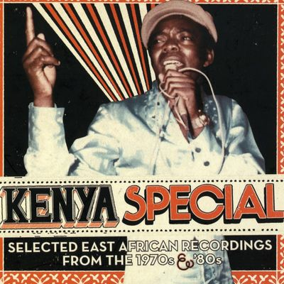 "Pochette de l'album ""Kenya special /Selected East African recordings from the 1970s & '80s"" par The Mombasa Vikings"