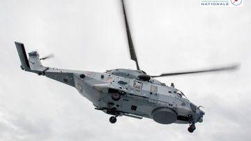 Un hélicoptère de la Marine Nationale a été dépêché sur place pour l'évacuation