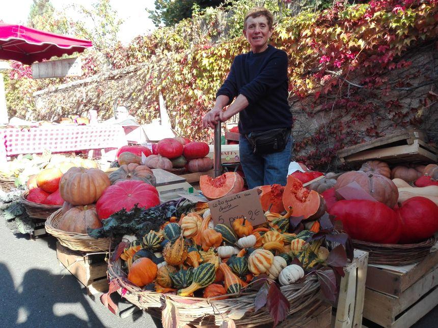 Une bonne récolte des légumes d'automne