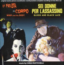 6 femmes pour l'assassin : Atelier (titoli) - Carlo Rustichelli : « Atelier (Titoli) » (Carlo Rustichelli)