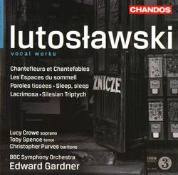 Chantefleurs et chantefables : Le papillon - cycles de 9 mélodies pour soprano et orchestre - LUCY CROWE