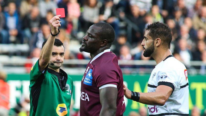 Le carton rouge de Mahamadou Diaby a fait mal à l'UBB à Brive.