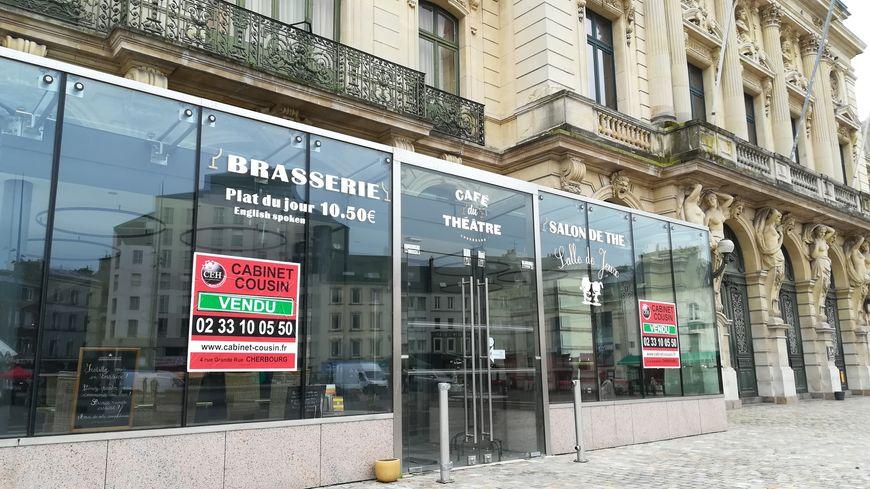 Le Café du Théâtre à Cherbourg est fermé depuis la fin juin. Il devrait rouvrir dès le printemps 2020.