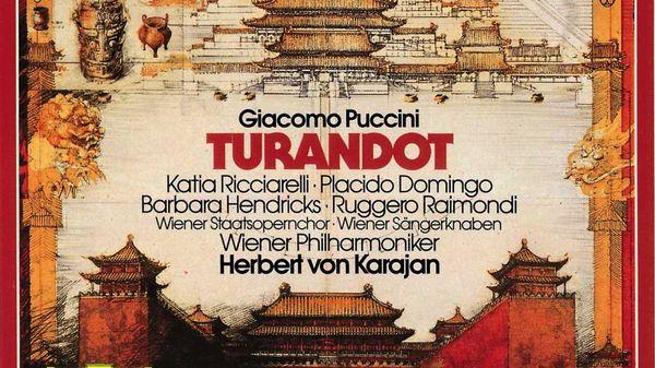Herbert von Karajan dirige Turandot de Puccini