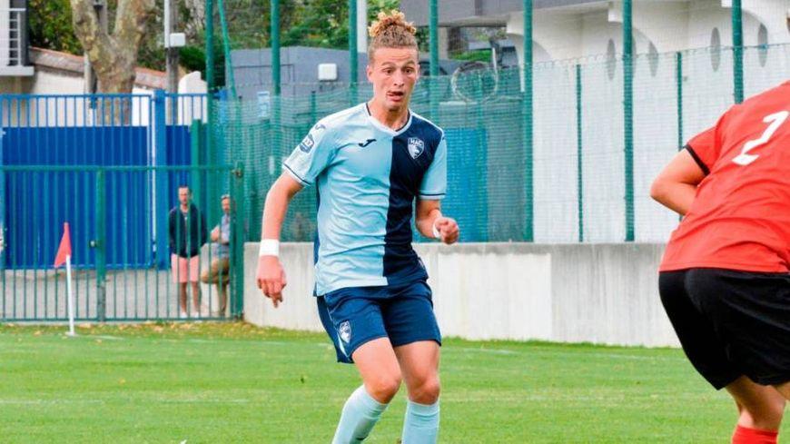 Tom Cadoche sous les couleurs du club du Havre