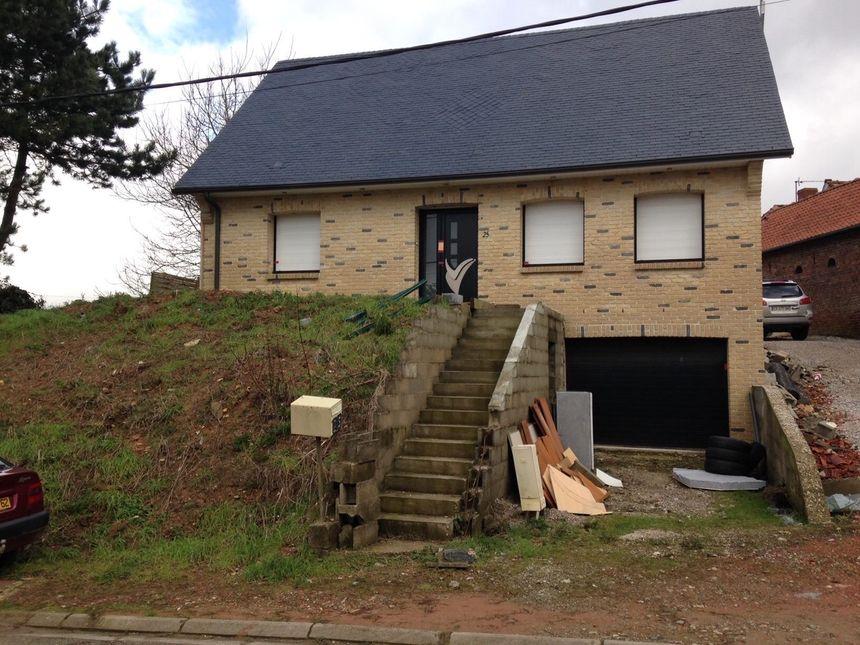 La maison de Lisbourg ou a été découvert le corps du nouveau né