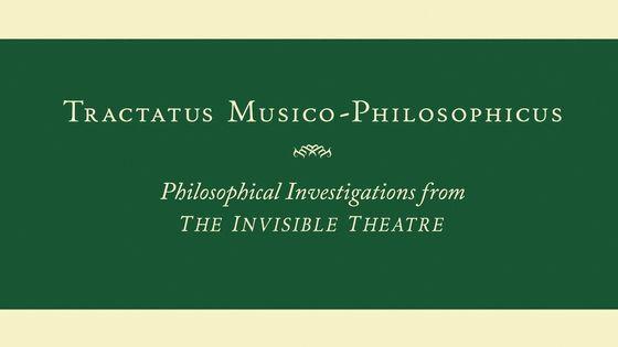 John Zorn, Tractatus Musico-Philosophicus (2019)