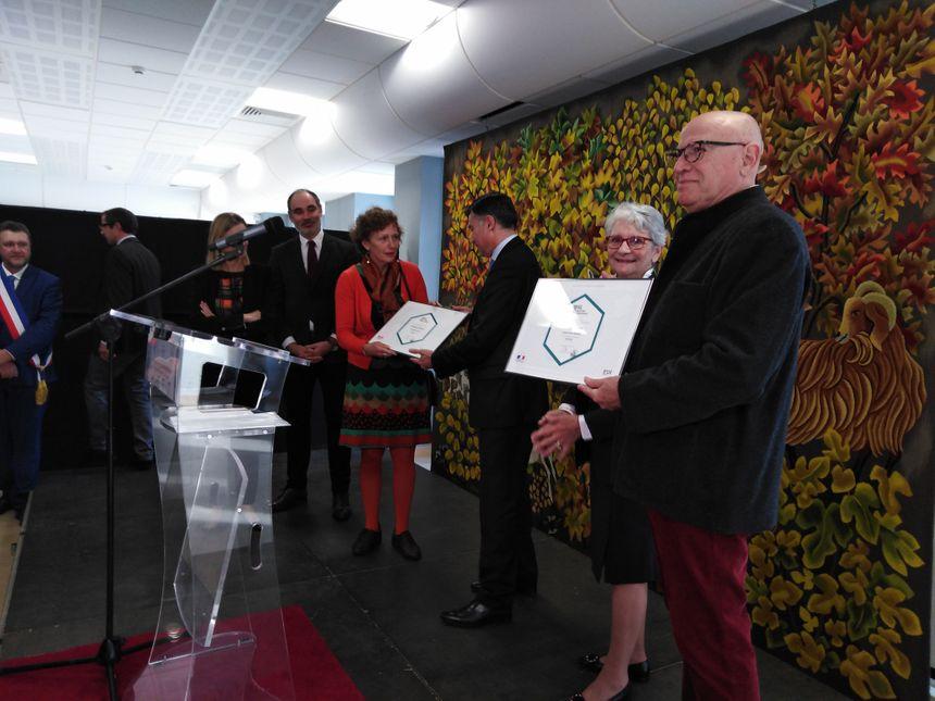 """Les diplômes des """"IG"""" ont été remis lors d'une cérémonie à Aubusson"""