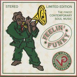 "Pochette de l'album ""Feelin' funky"" par Benny Gordon"