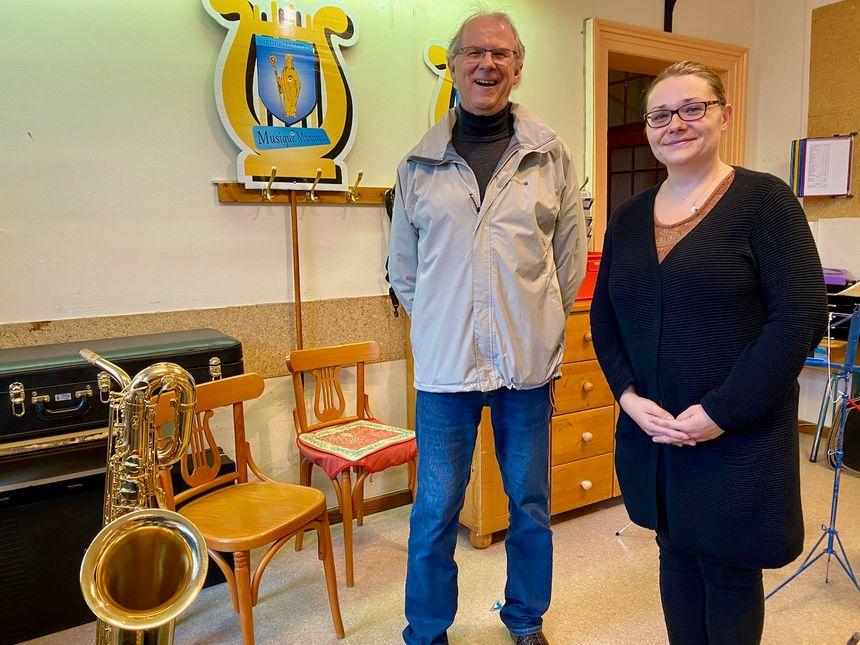 Niederhaslach, Estelle Bayard et Jean Marie Lutz, Musique Municipale