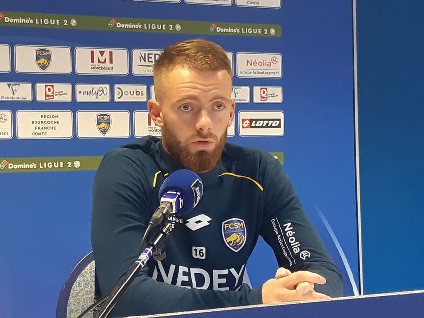 Maxence Prévot, le gardien et capitaine, est à l'image de son équipe depuis le début de saison : solide !