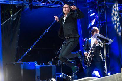 Nick Cave & the Bad Seeds en concert en Norvège le 3 juin 2018.