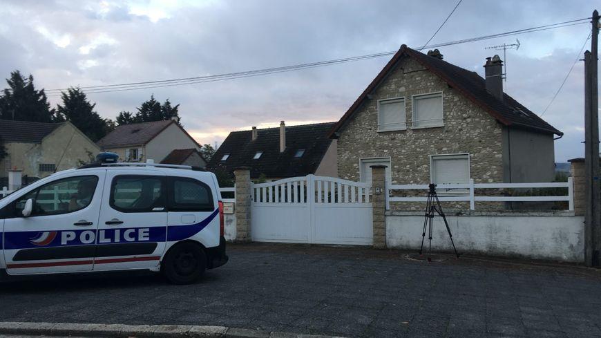 Le pavillon perquisitionné à Limay dans les Yvelines après l'arrestation de Xavier Dupont de Ligonnès