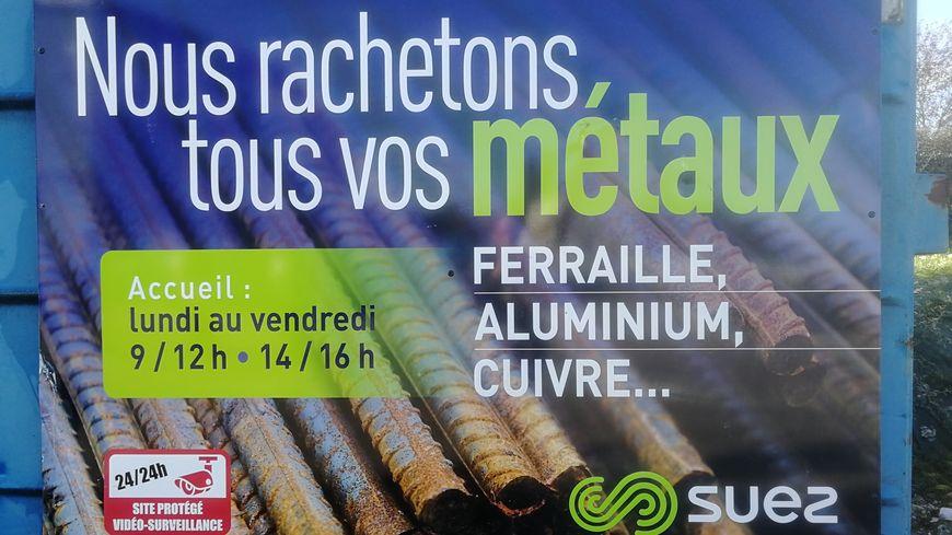 Le nouveau comptoir à métaux de Suez à Chevigny-Saint-Sauveur