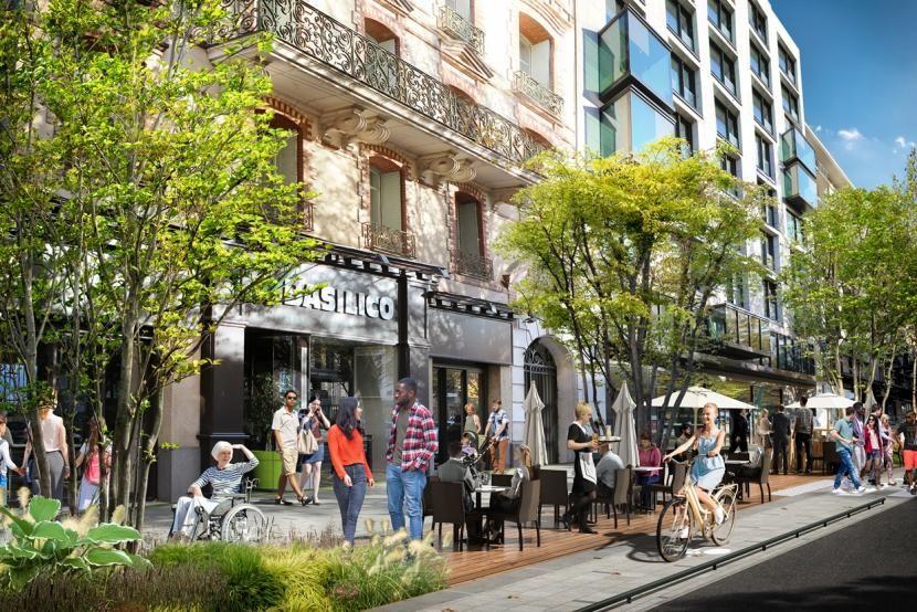 La future avenue Janvier à Rennes