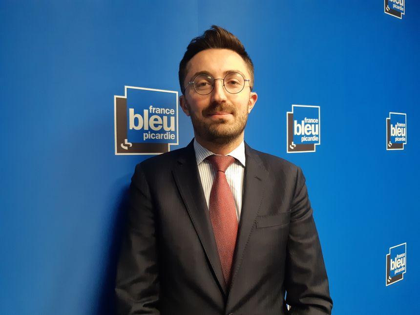 Antoine Planquette, le directeur de cabinet de la préfète de la Somme