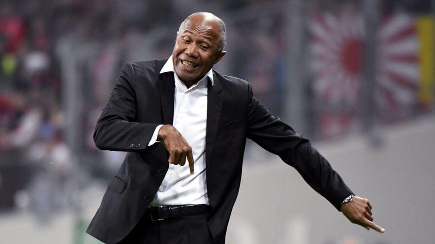 L'entraîneur toulousain Antoine Kombouaré.