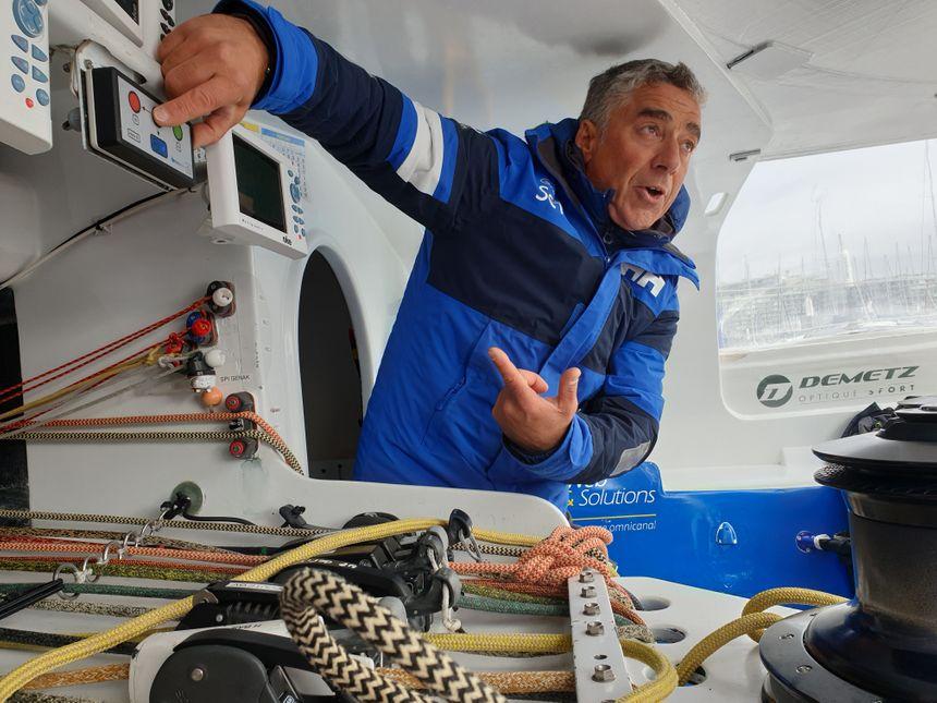 Pour Manuel Cousin, la préparation de la saison dure depuis plusieurs mois, avec le Vendée Globe en ligne de mire.