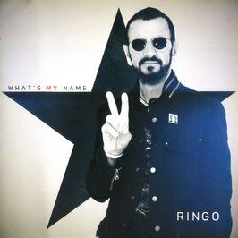 """Pochette de l'album """"What's my name"""" par Ringo Starr"""