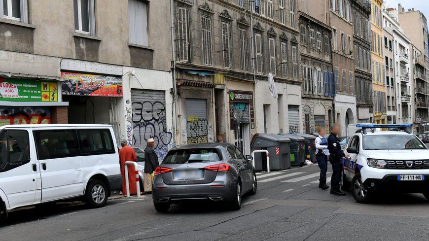 L'accident s'est produit rue Guibal, près de la gare Saint-Charles