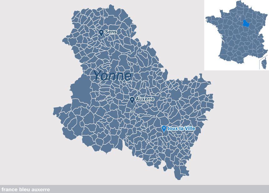 Joux-la-Ville, dans l'Yonne