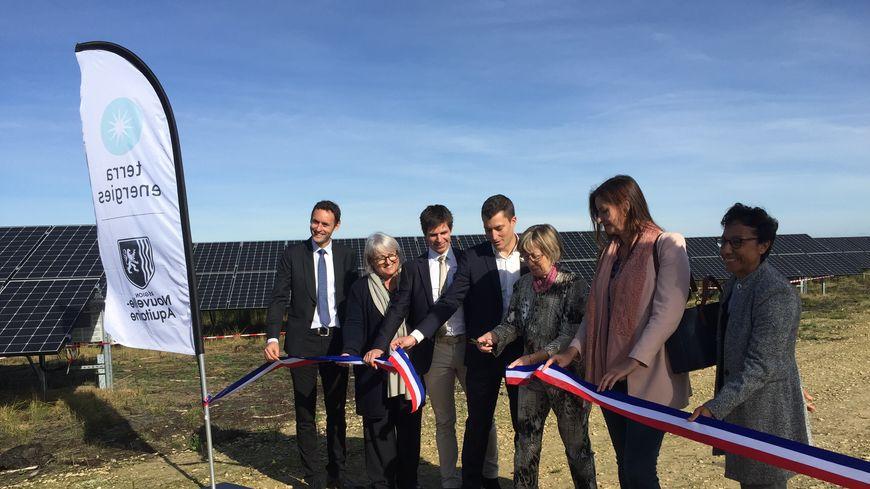 La centrale photovoltaïque a été inaugurée vendredi.