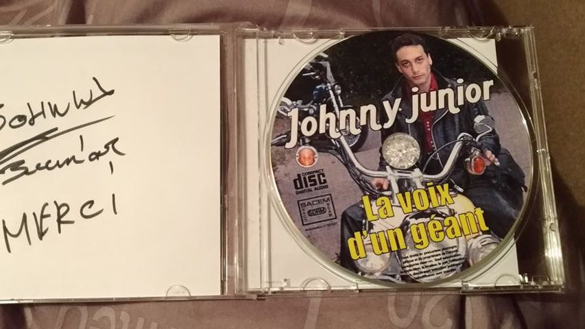 Jean-Baptiste Guégan lorsqu'il était Johnny Junior
