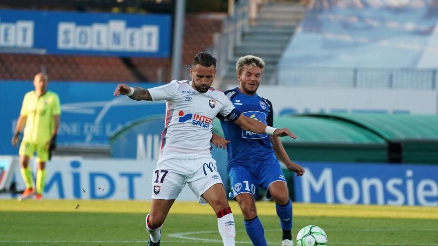 Le capitaine du SM Caen Anthony Gonçalves intègre pour la première fois la convocation de Pascal Dupraz.