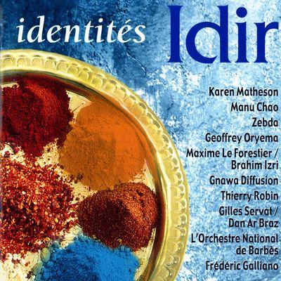 """Pochette de l'album """"Identités"""" par Idir"""